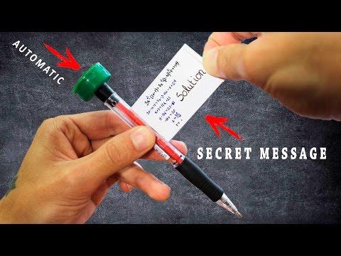 How To Make Secret Message Pen - Lifehack