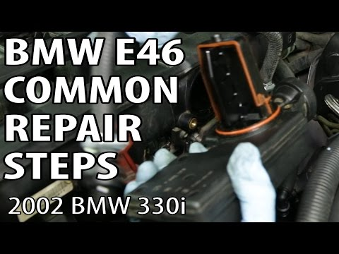 BMW 330i 325i E46 Common Repair Steps - PlayItHub Largest