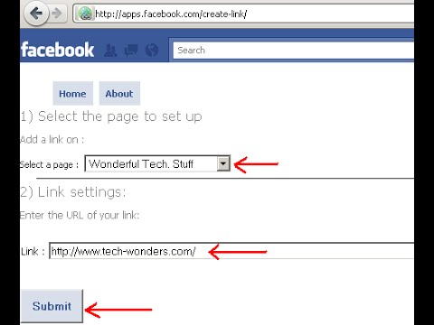 How To Add Content And Links Tou Your Facebook Fan Pages And Make Money