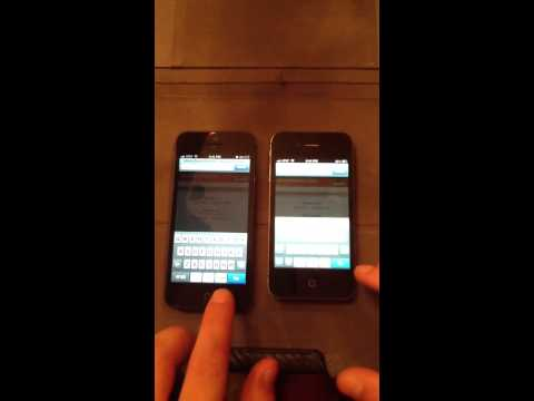 iPhone 5 vs iPhone 4S Browser Speed Test