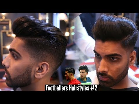 Mens Hairstyle Inspiration 2017 - Popular Modern Pompadour Tutorial - Emre Can Mens Haircut