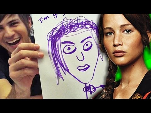 HUNGER GAMES SPEED DRAWINGS!