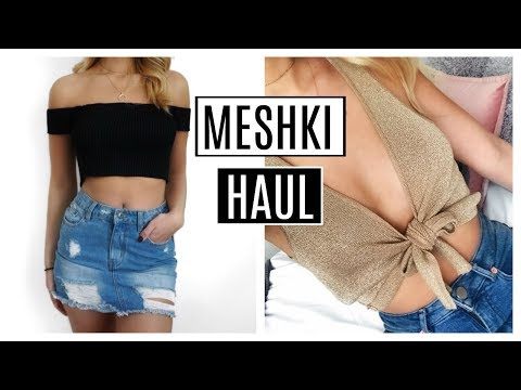 MESHKI BOUTIQUE HAUL & TRY ON | LUXICS
