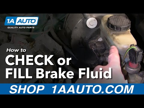 Auto Repair: How Do I Check or Add Brake Fluid to My Car or Truck? - 1AAuto.com