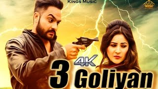 3 Goliyan I Nick Sandhu Feat B.I.R I New Punjabi Songs 2016 Latest | Kings Music