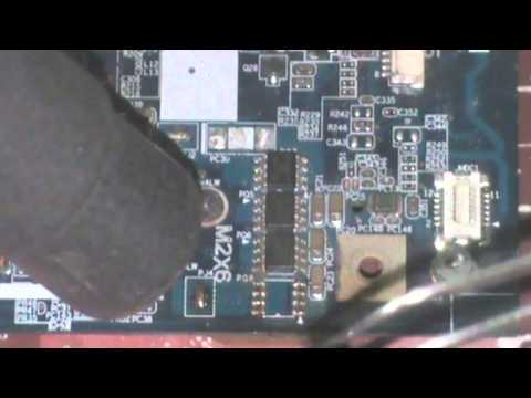 How to replace power ic of laptop motherboard