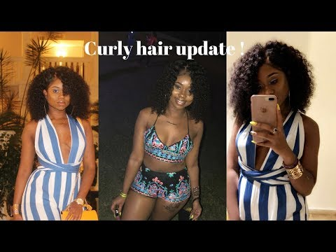 This KINKY CURLY Hair STAYED BOMB My Entire Vacation! Carnival Was Lit !  | WowAfrican Wig Update