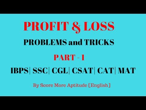 Profit and Loss Concept and Tricks | Part 1