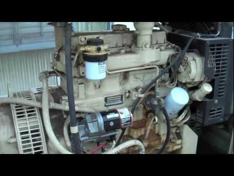 Generator Starter Solenoid Replacement and Load Test