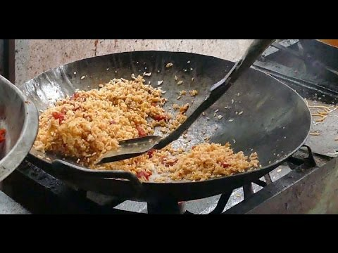 CHICKEN FRIED RICE - SOUTH INDIAN NON VEG RECIPES - 4K VIDEO street food