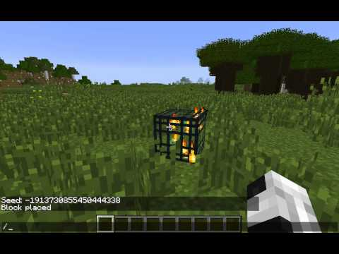 How To Get Any Type Of Mob Spawner In Minecraft