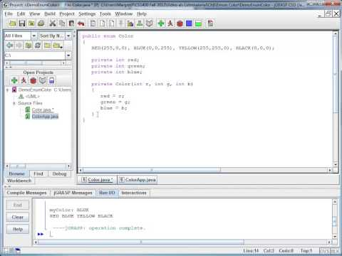 Java Basics - Enums Part 2