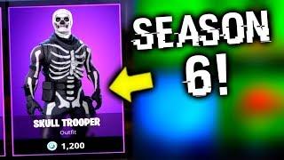 He Bought Skull Trooper In Fortnite Season 6