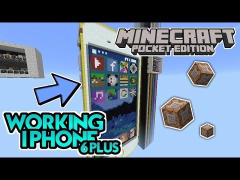 Bisa Bekerja? Iphone 6 Plus + Update 1.0.5 Official! - Minecraft PE