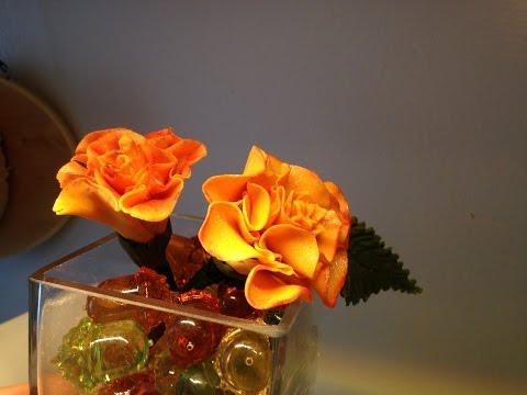 Gumpaste Marigolds