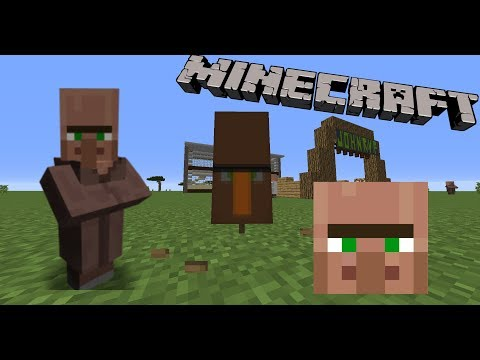 How to make a Villager Banner in Minecraft!