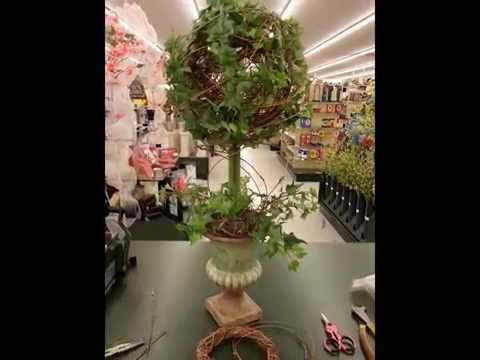 Make Your Own Topiary Tree
