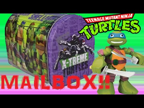 Ninja Turtle Mailbox Surprise! PLay doh Surprise EGGS BLIND BAGS!MINECRAFT AVENGERS BLIND BOX