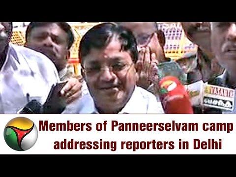 OPS Team Maitreyan's Press Meet after meeting TN Farmer Protesters in Delhi
