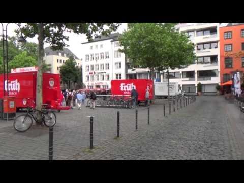A walk around Cologne city centre June 13