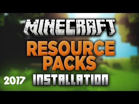 ✔ Minecraft: How To Install Texture Packs Correctly | 2017