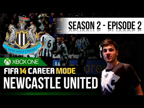 FIFA 14 Xbox One   Newcastle United Career Mode - S2E2 - Last Minute Winner!