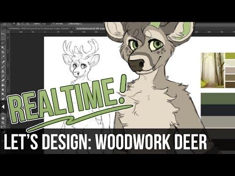 Let's Design – Woodwork Deer