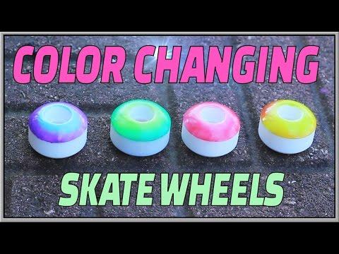 Custom Thermal Temperature Skateboard Wheels!