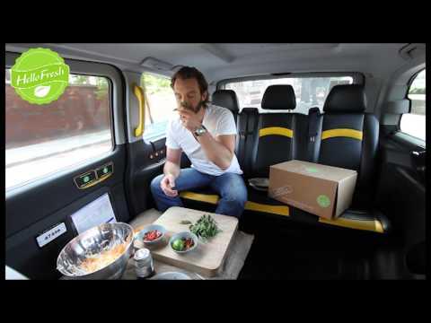 Vietnamese Papaya Salad in a Runaway Cab...!