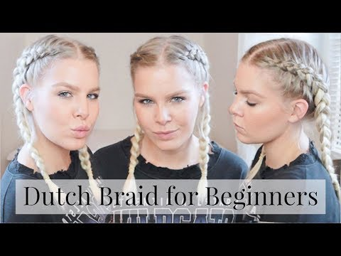 HOW TO DUTCH BRAID YOUR OWN HAIR STEP BY STEP – HAIR FOR BEGINNERS  | AMALIE GABS