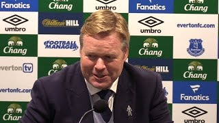 Everton 4-0 Manchester City - Ronald Koeman Full Post Match Press Conference