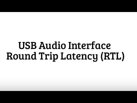 USB Audio Interface Latency
