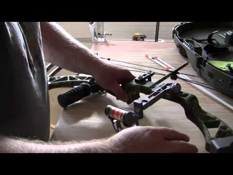 Mounting an AMS Bowfishing Reel and Kit to my Compound Bow for Bowfishing,