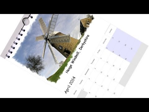 Tutorial on creating a personalised 2016 photo calendar using Paint Shop Pro. FREE templates