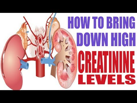 How to bring down or reduce high creatinine levels | prevent kidney failure naturaly