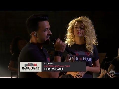 Tori Kelly & Luis Fonsi - Hallelujah   Hand In Hand Benefit 2017