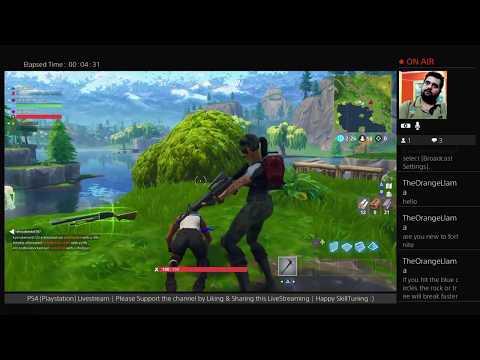 Fortnite  | Battle Royal | PS4