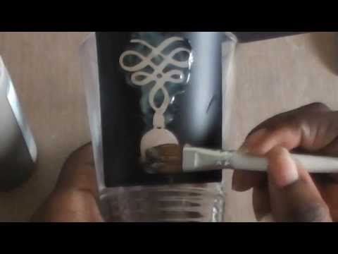 Using Etching Cream