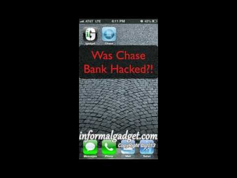Was Chase Online Bank Hacked? Chase App/Website Showing Checking & Savings Zero Money/Activity
