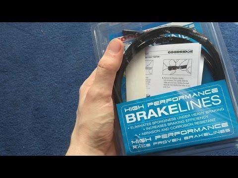 Goodridge Braided Brake Hose Kit