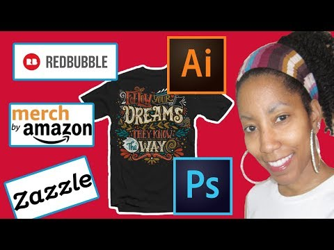 Getting Started Selling T-Shirts Online With a Print on Demand Business