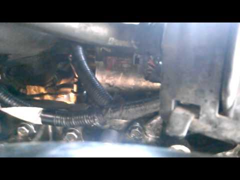 Honda CRV knock sensor removal and install