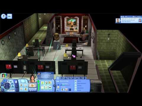 The Sims 3: Desafio da Ilha Deserta (Ep. 24) - Quartel da MorcuCorp e Tumba do Oceano Desértico