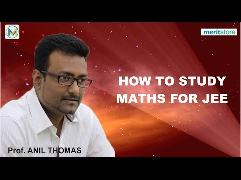 How to Study Maths Syllabus for JEE