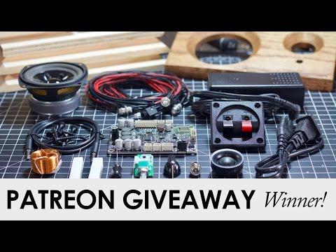 November Patreon Giveaway Winner!