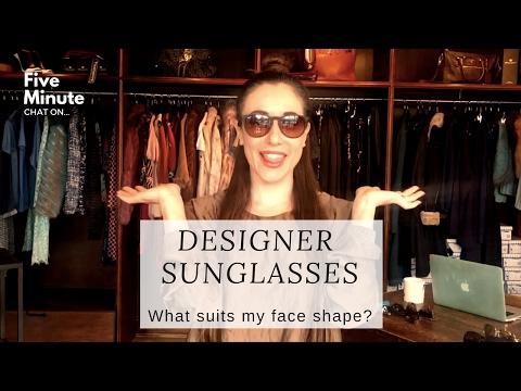 What sunglasses suit my face? Designer Sunglasses Haul.