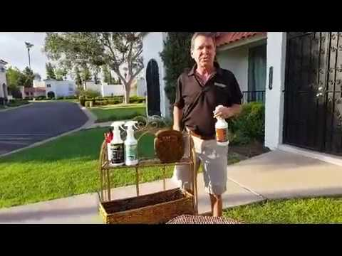 How To Clean Wicker In Seconds With Wicker Magic!