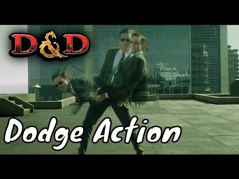 D&D (5e): Dodge Action.