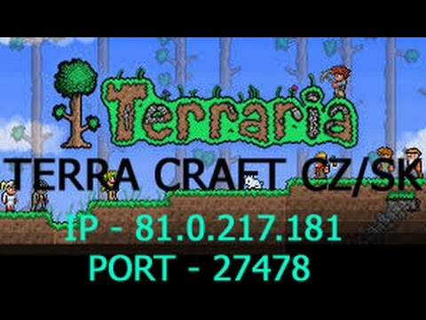 Terraria server CZ/SK - TerraCraft - Pozvánka na server