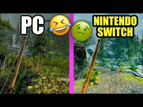 IT MADE ME SICK! - SKYRIM on Nintendo Switch